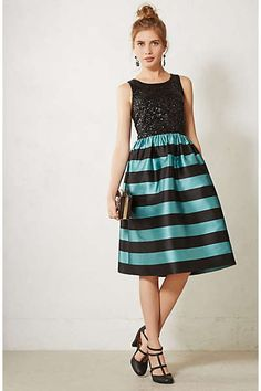 Fun party dress from Anthropologie. #partydress #newyearsparty