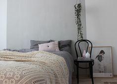 VALONTALO  Emilia Karenina │ Interior Designer #bedroom #scandinavian #veespeers #hangingpot #chainofhearts
