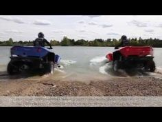 The Quadski is jet ski and ATV in one amphibious vehicle – The Quirky Verve