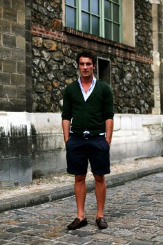 Shorts for Europe in the Summer - Do or Don't? #travel #clothing #men