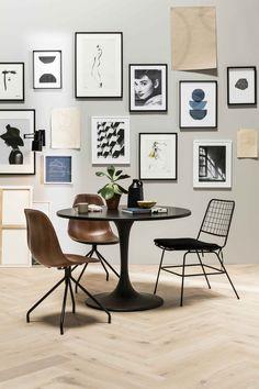 Kunst in huis: zwart-wit illustraties van Petra Lunenburg - KARWEI