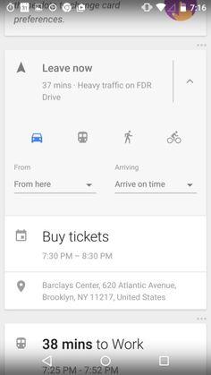 Google Now Launcher | Pttrns