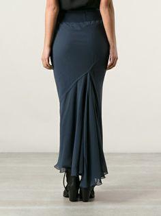 RICK OWENS Asymmetric Skirt, $666.96
