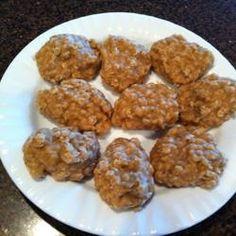 No-Bake Peanut Butter Cookies III Allrecipes.com