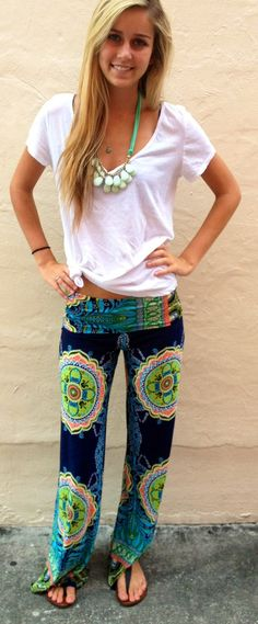 Exumas Pants Preppy - so comfy and cute, I want the whole outfit