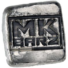 1 oz MK Barz Hand Poured Antique Logo Silver Bar from JM Bullion™ Bar Logo, Silver Bars, Product Offering, 1 Oz, Rings For Men, Things To Come, Antiques, Logos, Metal