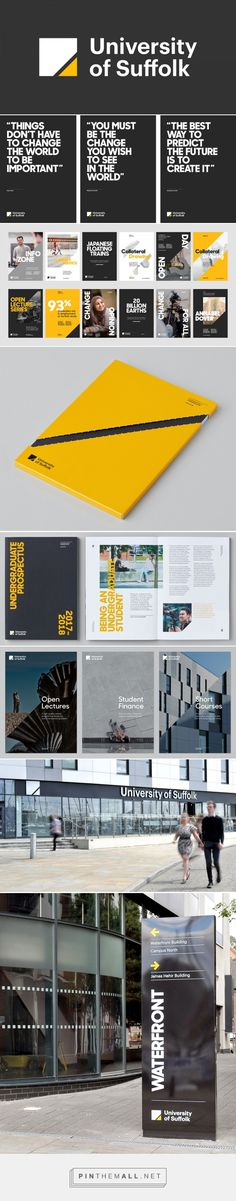 Brand New: New Logo and Identity for University of Suffolk by Only Studio... - a…