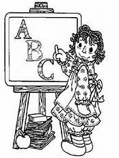 raggedy ann coloring pages bing images