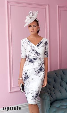 Dress, Ispirato Mother of the Bride – Kleider Kleider / Kleid, Ispirato Mutter der Braut Mother Of The Bride Fashion, Mother Of Bride Outfits, Mother Of Groom Dresses, Mothers Dresses, Mother Of The Bride Clothes, Summer Mother Of The Bride Dresses, Bride Groom Dress, Mob Dresses, Fashion Dresses