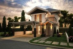 Mahogany House, opens the master-planned subdivision in Guadalupe. A single detached house with a modern contemporary and Asian architectural designed. Accessibility to hospitals, police, schools, business center, commercial and government centers, and other important destinations.