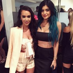 #CarliBybel and #KylieJenner