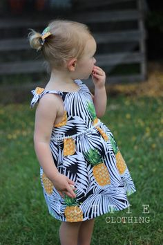 Palm Beach Bow Dress FREE SHIPPING low back by LottieClothing