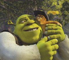 *SHREK & PUSS IN BOOTS ~ Shrek 2 (2004)