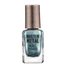 Barry M Molten Metal - Blue Glacier