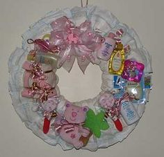 Diaper Wreaths | Diaper Wreath Boutique