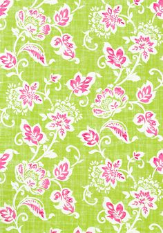 CANDISE, Pink and Green, T9175, Collection Avalon from Thibaut