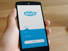 "via Muzli design inspiration. ""Skype Redesign Concepts"" is published by Muzli in Muzli - Design Inspiration. Motion App, Ui Inspiration, Ipad Tablet, Ui Kit, App Ui, Ui Ux Design, Mobile Design, Mobile Ui, Concept"