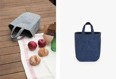 Tote bag - RPF Naoron (Size : H270 × W270 × D150 mm, 78€ ), (Size : H270 × W220 × D120 mm, 98€ ), Colors : Pink, Blue Dark, Blue, Dark Gray, Black. Yellow, Red