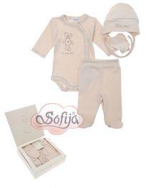 4-częściowy komplet dla dziecka z bawełny organicznej  www.sofija.com.pl  #babyshower #babygift #kinder #babygeschenk #kids #baby #dziecko #prezent #niemowlak #wyprawka #sofija #ubranka #подарокребенку #ребенок
