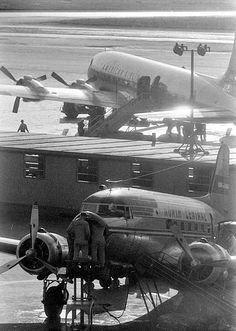 Chicago Midway Airport - North Central Airlines - DC-3 | Flickr - Photo Sharing!