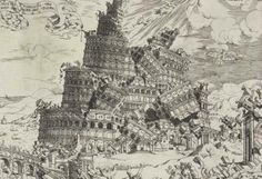 Trustees of the British Museum - 'Fall of the Tower of Babel' (1547) by Cornelis Anthonisz