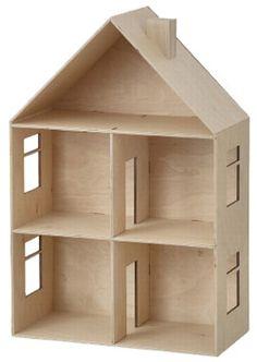 Maison de poupée en bois chez Bianca and Family