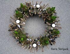 Adventskrans maken - bloemschikken voor Advent