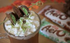 AERO Bubbly Hot Chocolate