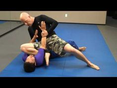 jui-jitsu BJJ - No Gi - Near side arm bar from side mount
