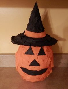 Pumpkin Witch Pinata by PartySmartyPants on Etsy, $20.00