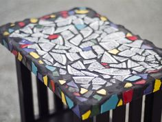 Never done this before but I really want to try...mosaic tile table top. I have a bar-height table in the backyard that is screaming for some upcycling love.