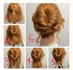 Updo with braids