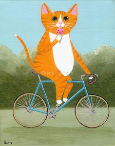 http://kilkennycat.wordpress.com/2012/08/14/cats-on-bikes/