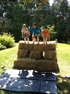 Warrior Dash Course for Kids