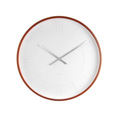 Present Time Karlsson Mr. White Roman Numbers Wall Clock - Canopy is Amazon, curated. Use Canopy to discover the most useful, beautiful, and well-designed products on Amazon.