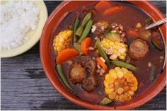girlichef: Caldo de Res ...or is it Mole de Olla!? {Red Chile Beef Soup w/ Vegetables}