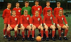 On this day 50 years ago, Liverpool took to the Anfield turf to face Anderlecht in the European Cup sporting an all-red strip for the first time in the club's history. Football Firms, Football Stadiums, Football Team, Classic Football Shirts, Retro Football, Team Photos, Sports Photos, Liverpool Fc Team, Bristol Rovers