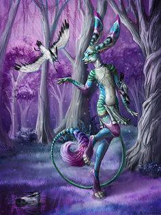 Original Digital Art by Bobbie Jean Pentecost  #Mythical #Fantasy #Creature