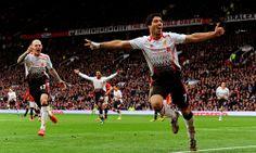 Suarez's United celebrations - Liverpool FC