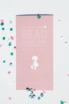 Geboortekaartje Sam & Beau