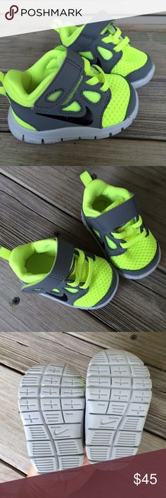 NEW Nike Free 2C Neon Yellow/green Brand new no box. Nike Shoes Baby & Walker