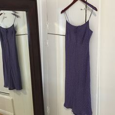 """CLEARANCE Lavender eyelet dress 6 Beautiful lavender eyelet dress size 6 it will fit a S! perfect spring/summer dress. Knee length, I'm 5.5"""" tall for length reference. Pre own but no stains, rips or holes. BUNDLE & SAVE 25% ❌TRADES❌ Ann Taylor Dresses"""