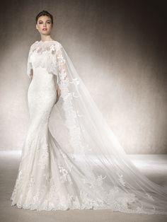MIRTA tulle wedding dress