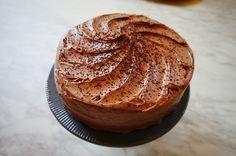 Receta de Pastel de Chocolate con Toques de Cafe