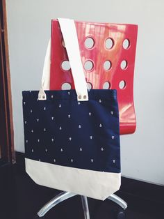 Two Tone Everyday Tote