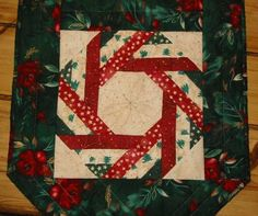 Resultado de imagen para christmas trees alternating blocks quilt