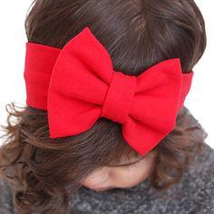 Pure Cotton Bow Hairband Baby Flower Headband Stretch Turban Bowknot Head Wrap Hair Band Headwear Hair Accessories 5444516 2016 – $5.59