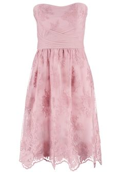 Esprit cocktailkleid peach blossom