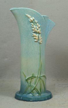 Roseville pottery vase
