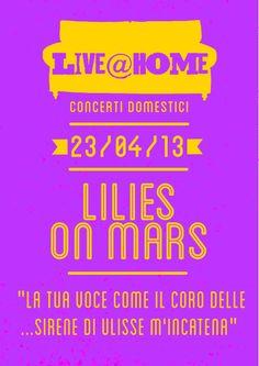 Live@Home | 2 - Lilies on Mars
